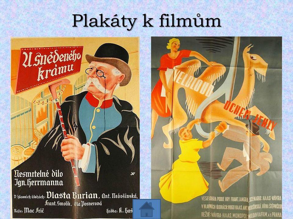 Plakáty k filmům