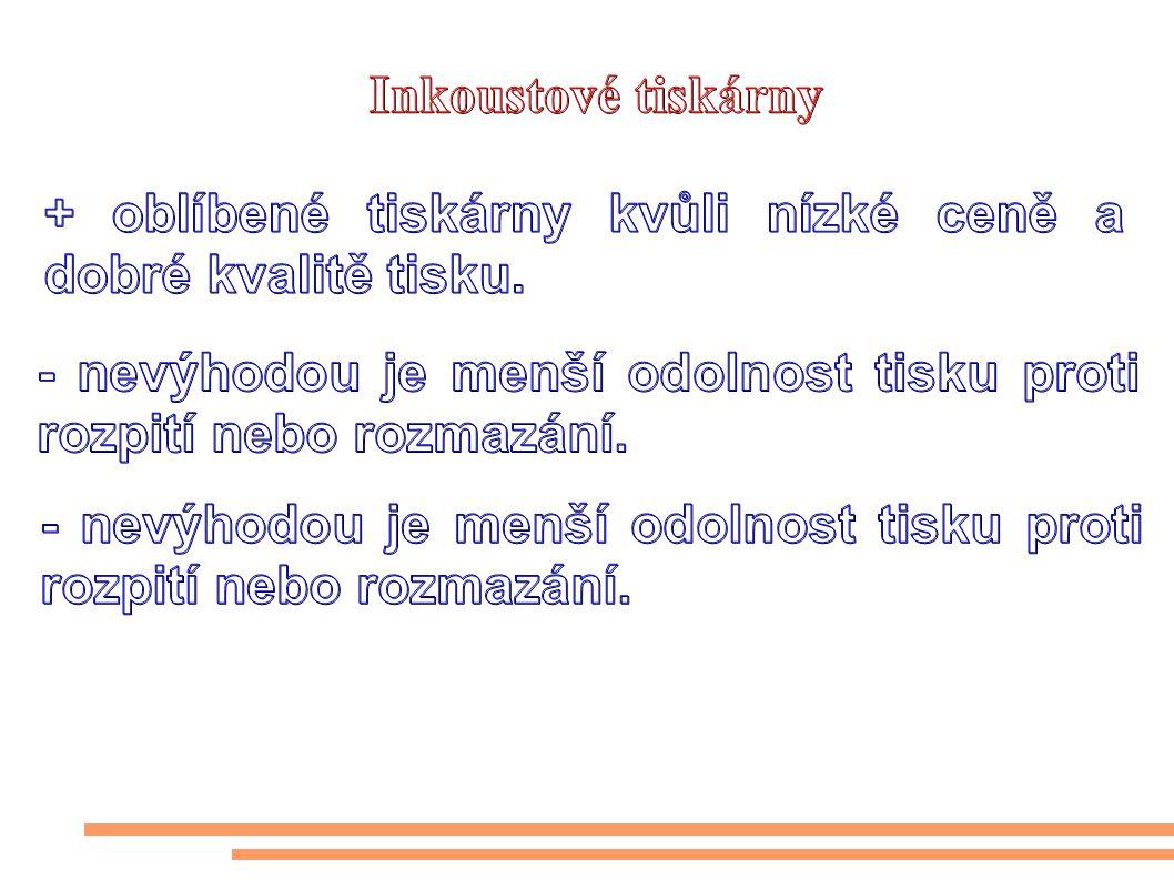 http://www.fotoaparat.cz/images/0066/006644.jpg Typy inkoustových tiskáren: