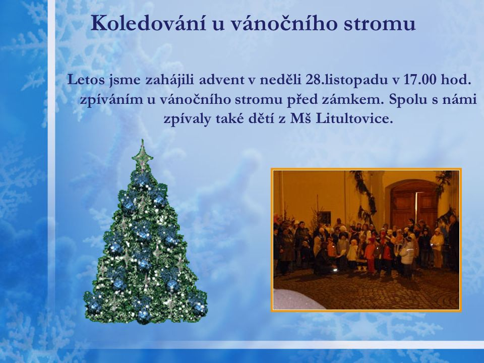 Advent v ZŠ Litultovice