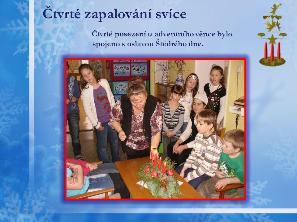 Adventní návštěva MŠ Litultovice Pozvali jsme na návštěvu děti z MŠ a s nimi si zasoutěžili o nejdelší vyrobený řetěz.