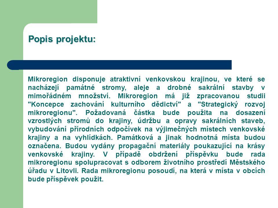 Obce Mikroregionu Litovelsko budou pokračovat ve zhodnocování historické krajiny i nadále.