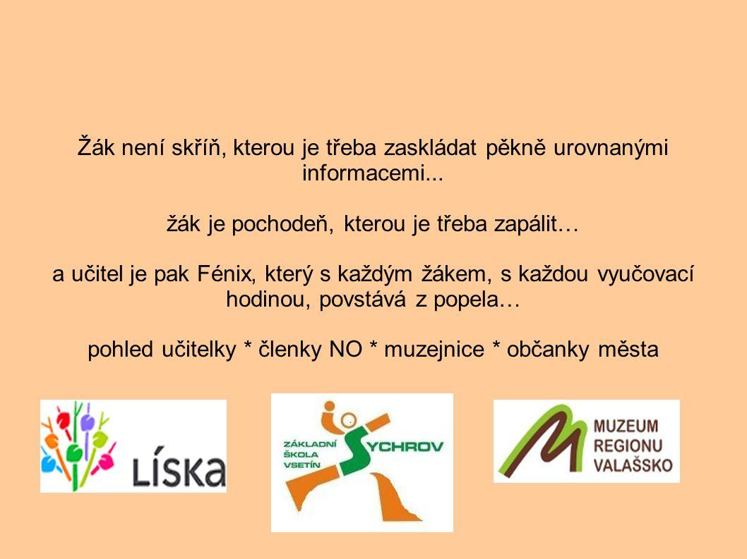 . Otevření škol směrem do komunity Líska-o.s. + město F-T