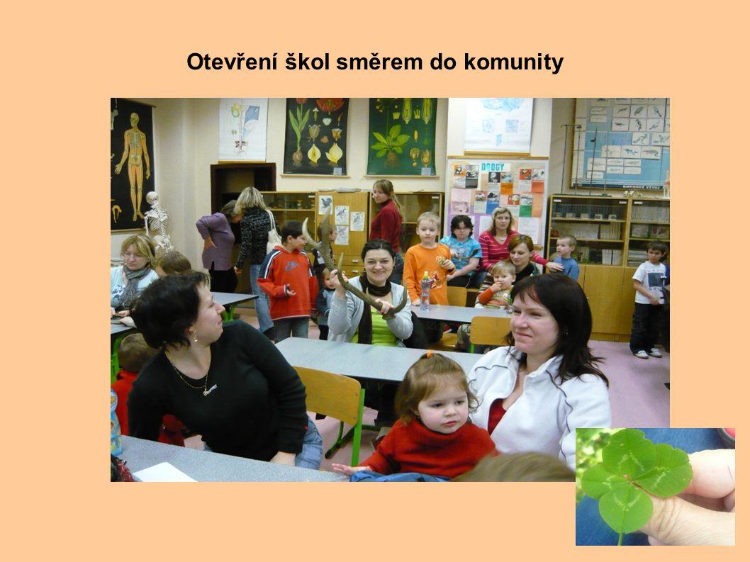 . Otevření škol směrem do komunity