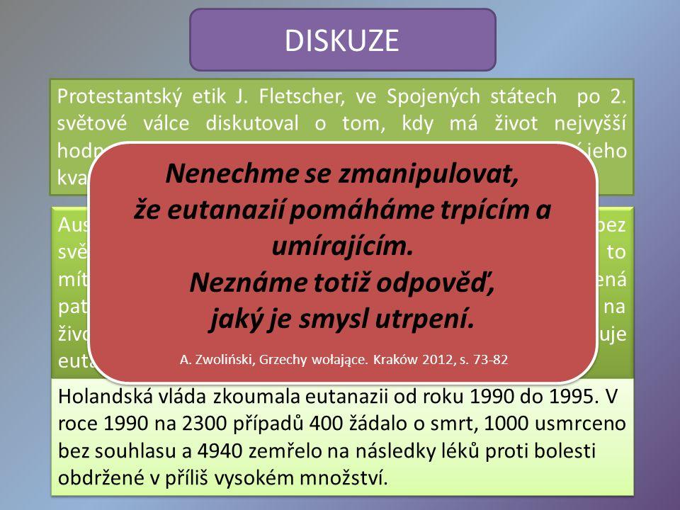 DISKUZE Protestantský etik J. Fletscher, ve Spojených státech po 2.
