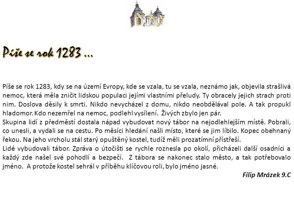 Píše se rok 1283, kdy se na území Evropy, kde se vzala, tu se vzala, neznámo jak, objevila strašlivá nemoc, která měla zničit lidskou populaci jejími vlastními přeludy.