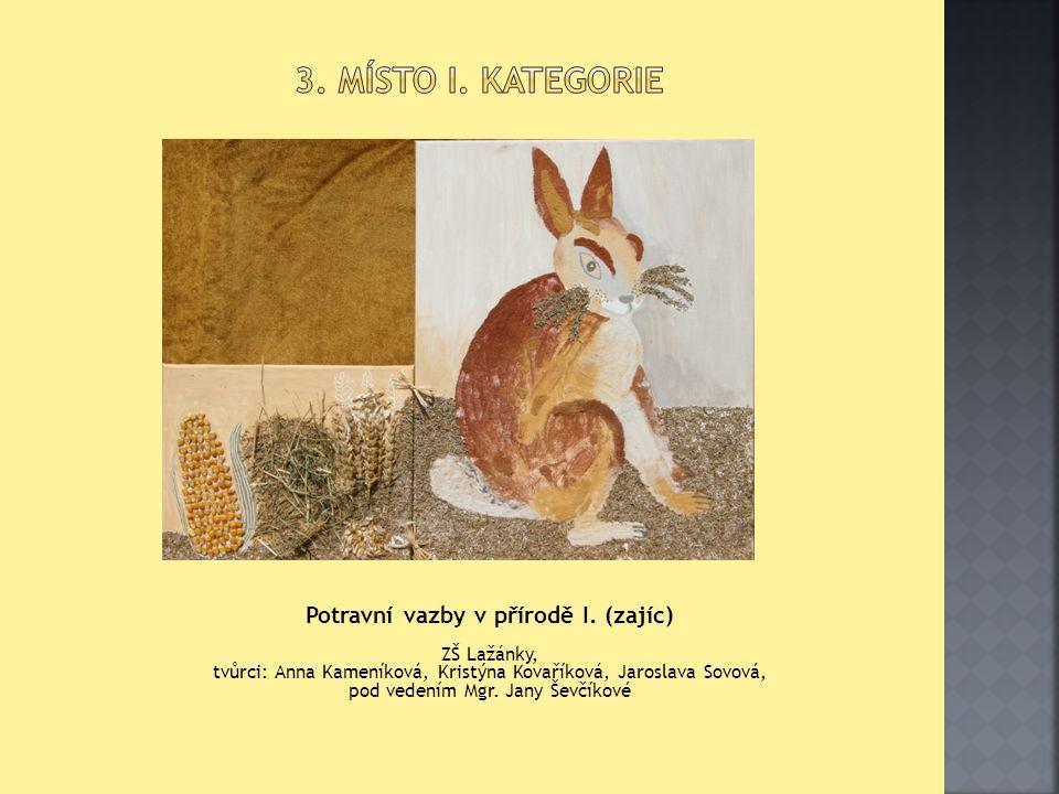 II.KATEGORIE = PŮDA JAKO KRONIKA 4. místo II.