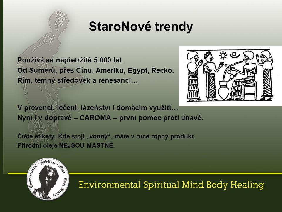 StaroNové trendy Používá se nepřetržitě 5.000 let.