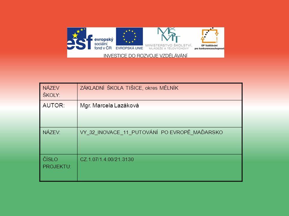 ANOTACE: Prezentace je určena pro žáky 5.ročníku a slouží k doplnění učiva o Evropě.