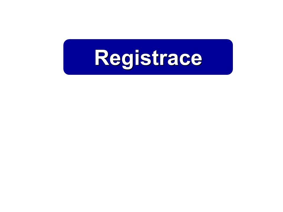 Registrace