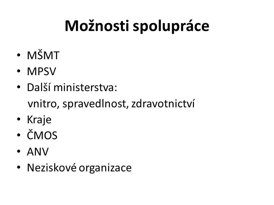 Dětské domovy v současnosti Změny - zák.č. 109/2002 Sb., v pl.
