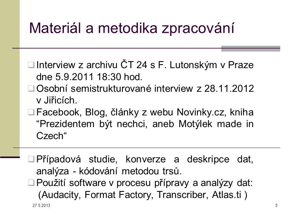  Interview z archivu ČT 24 s F. Lutonským v Praze dne 5.9.2011 18:30 hod.