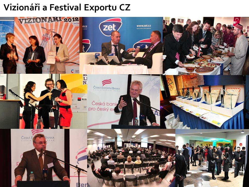 Vizionáři a Festival Exportu CZ