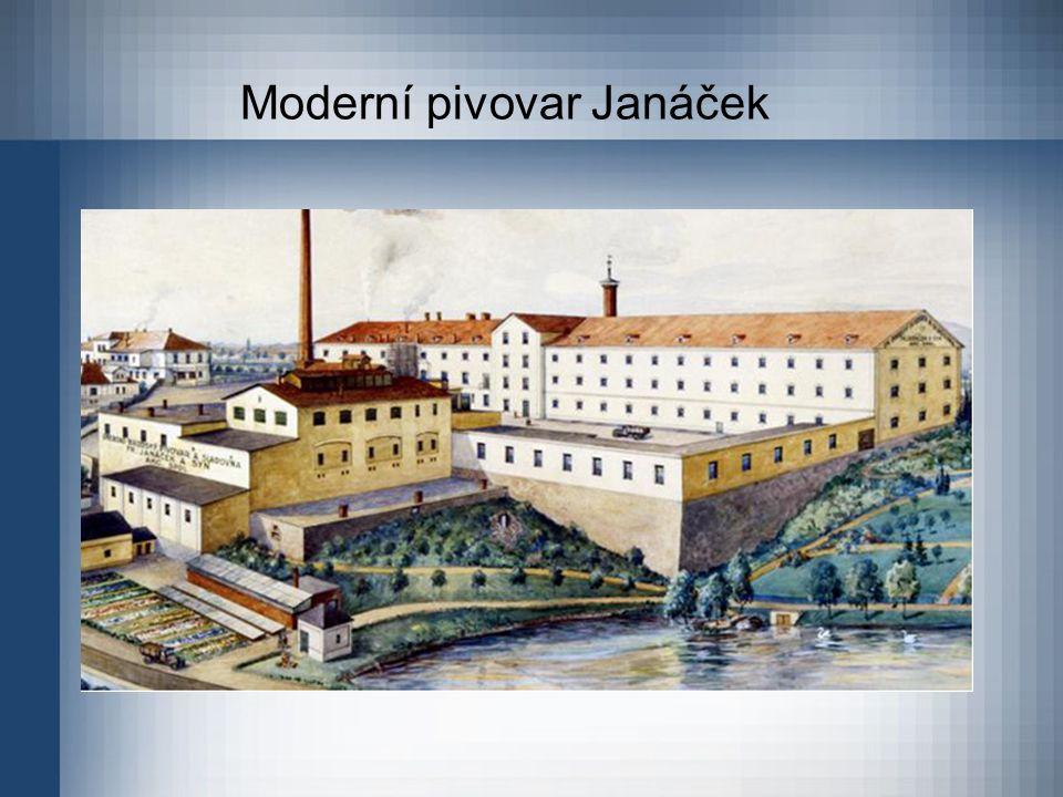 Moderní pivovar Janáček