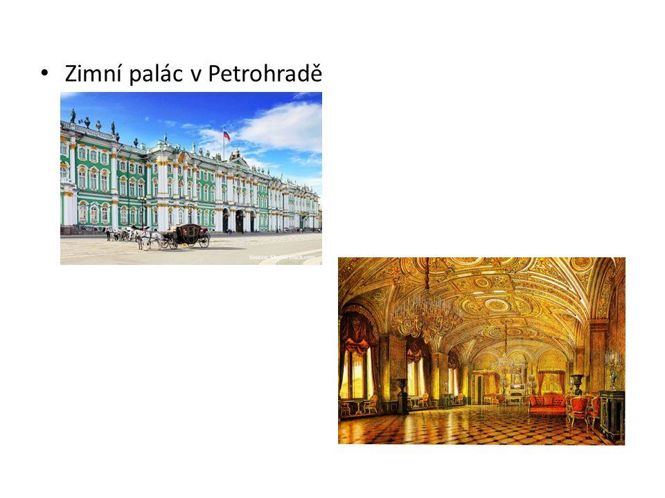 Zimní palác v Petrohradě