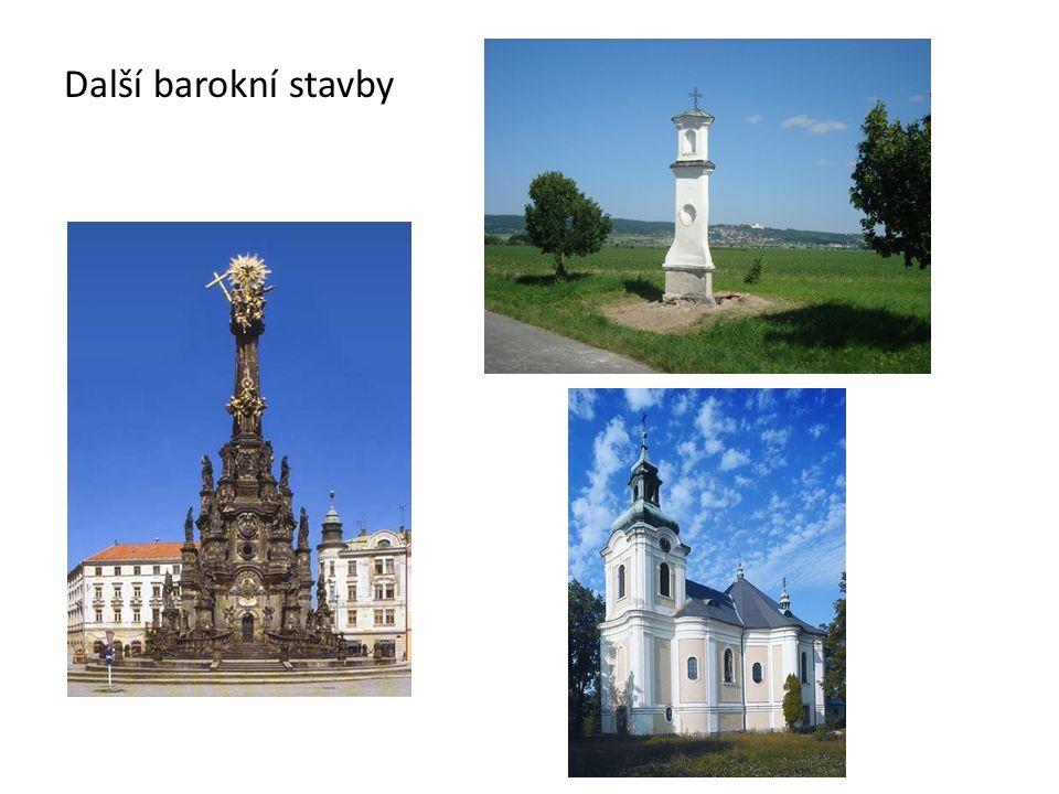 Další barokní stavby