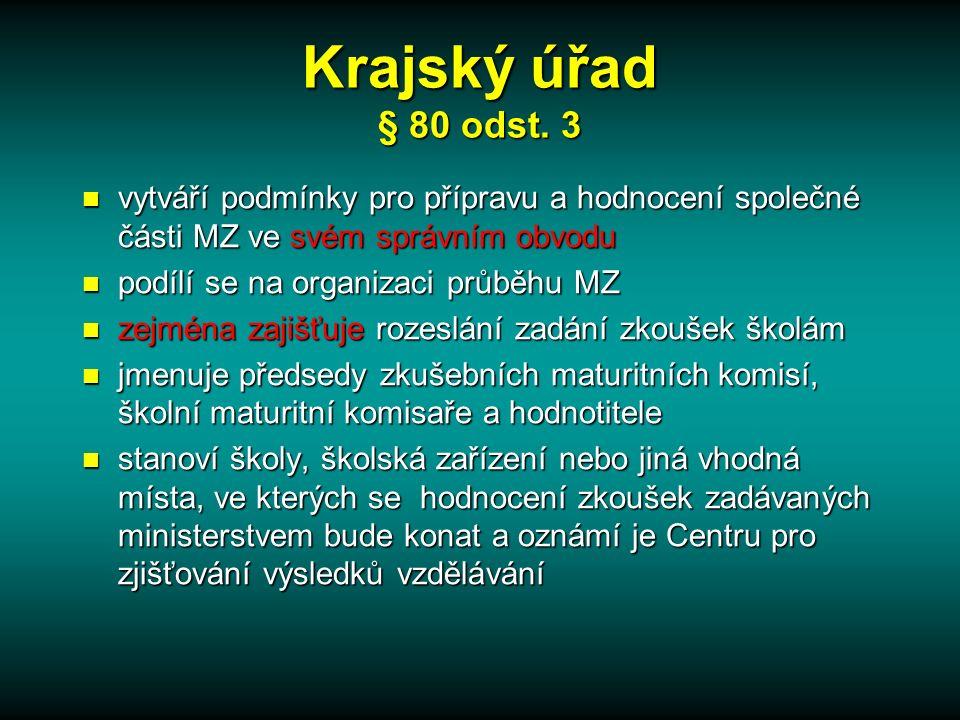 Krajský úřad § 80 odst.
