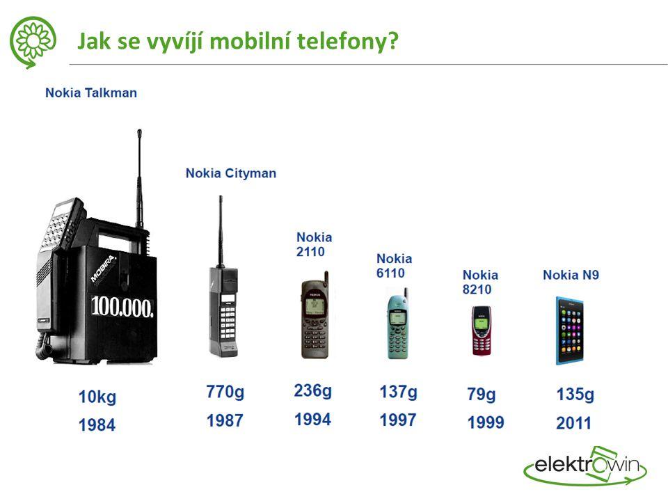 Jak se vyvíjí mobilní telefony