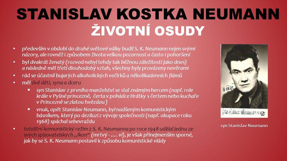 STANISLAV KOSTKA NEUMANN LITERÁRNÍ ZEMĚPIS Místopis S.
