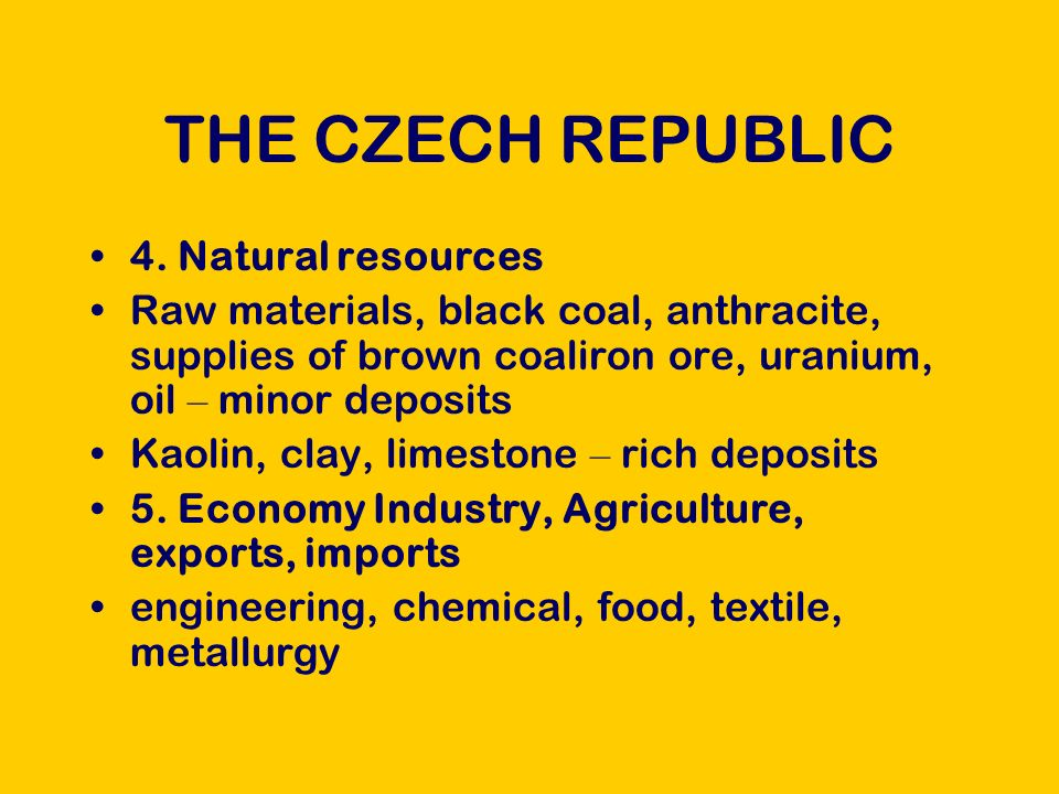 THE CZECH REPUBLIC 4.