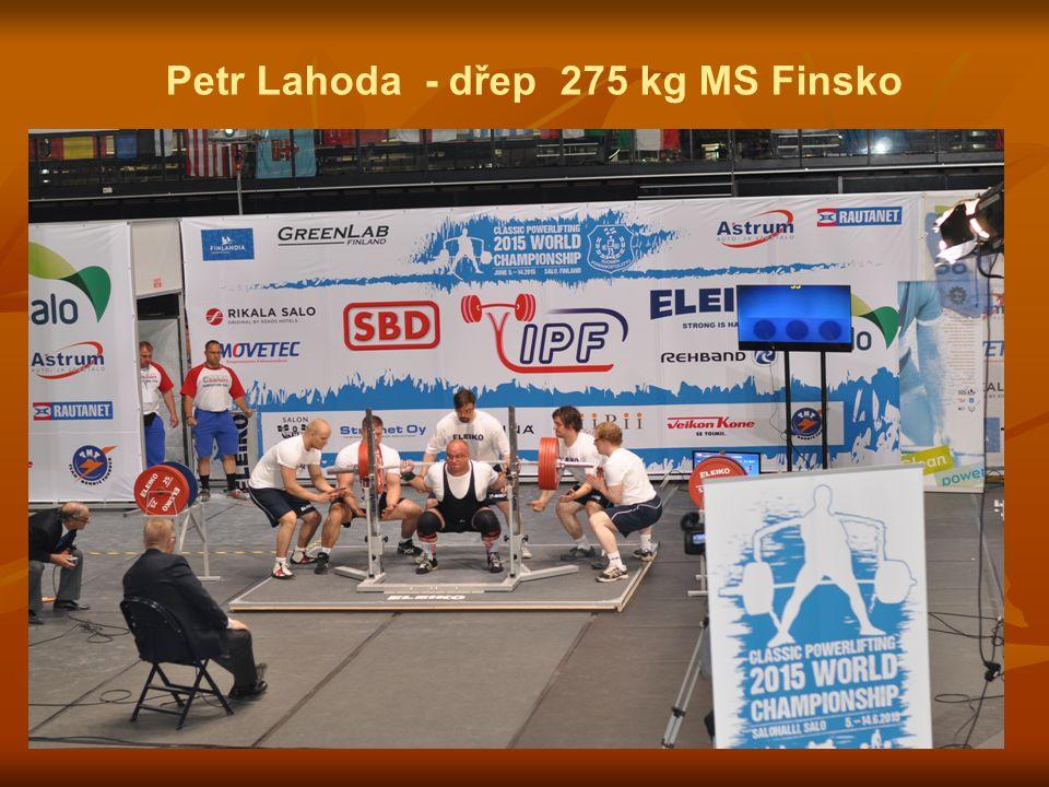 Petr Lahoda - dřep 275 kg MS Finsko