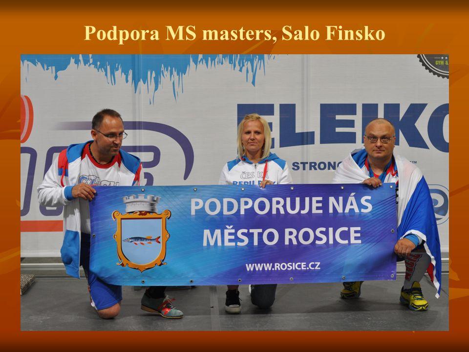Podpora MS masters, Salo Finsko