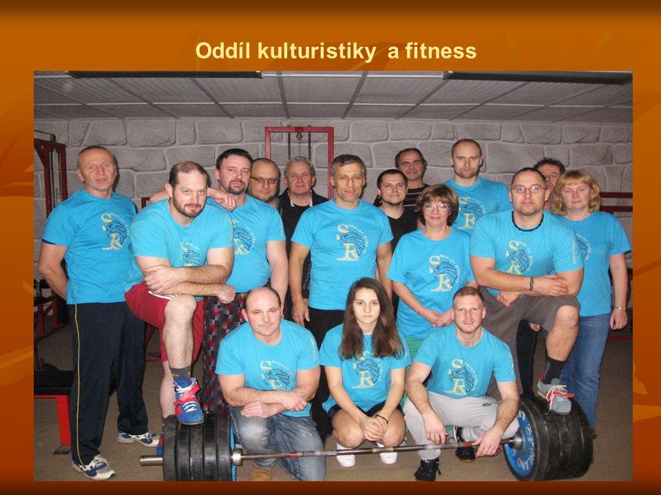 Oddíl kulturistiky a fitness