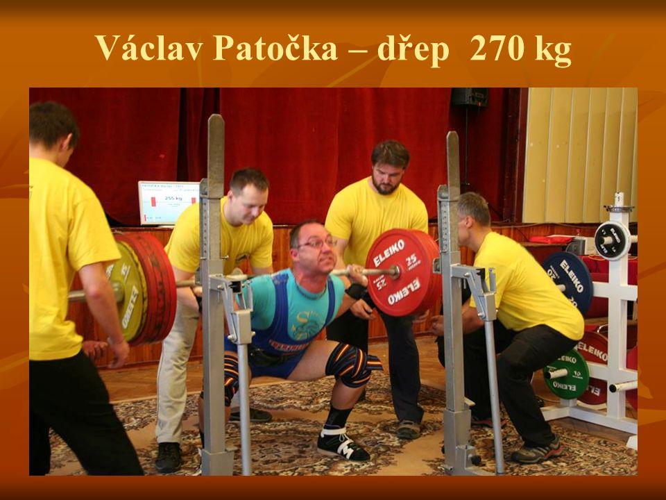 Václav Patočka – dřep 270 kg