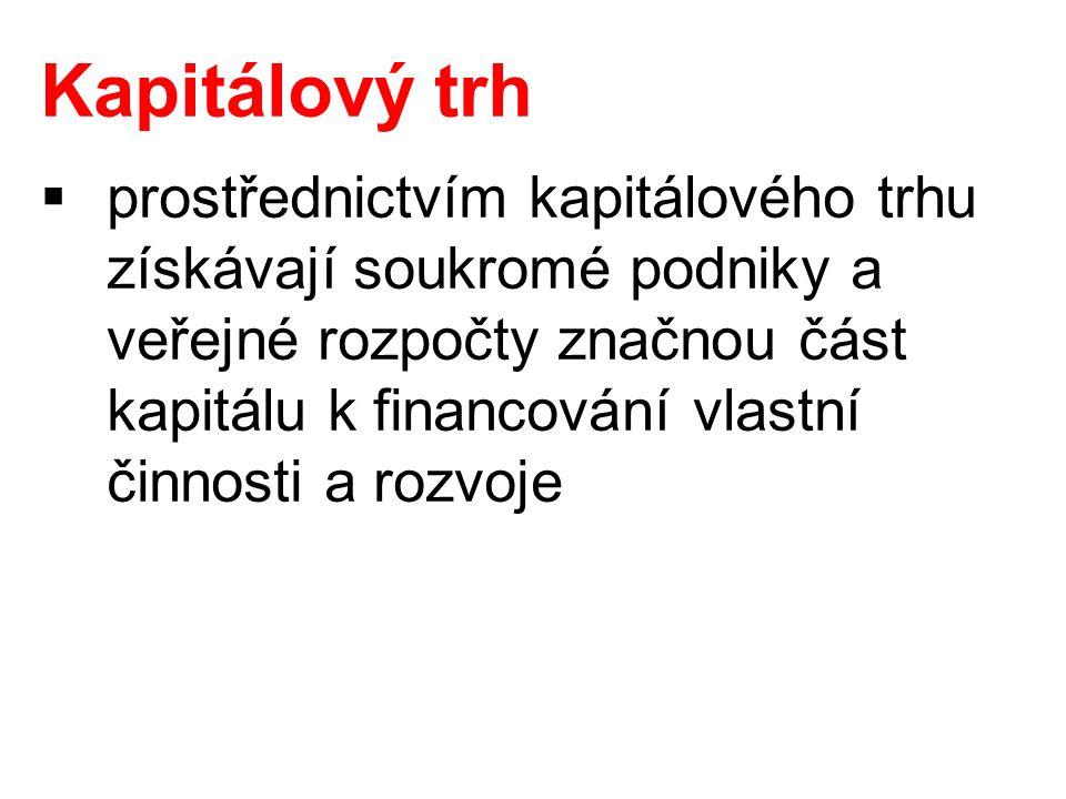 Použité zdroje: DVOŘÁKOVÁ, Z.– SMRČKA, L. a kol.: Finanční vzdělávání pro střední školy.