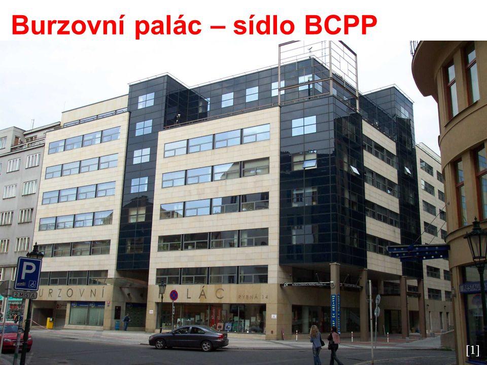 Burzovní palác – sídlo BCPP [1]