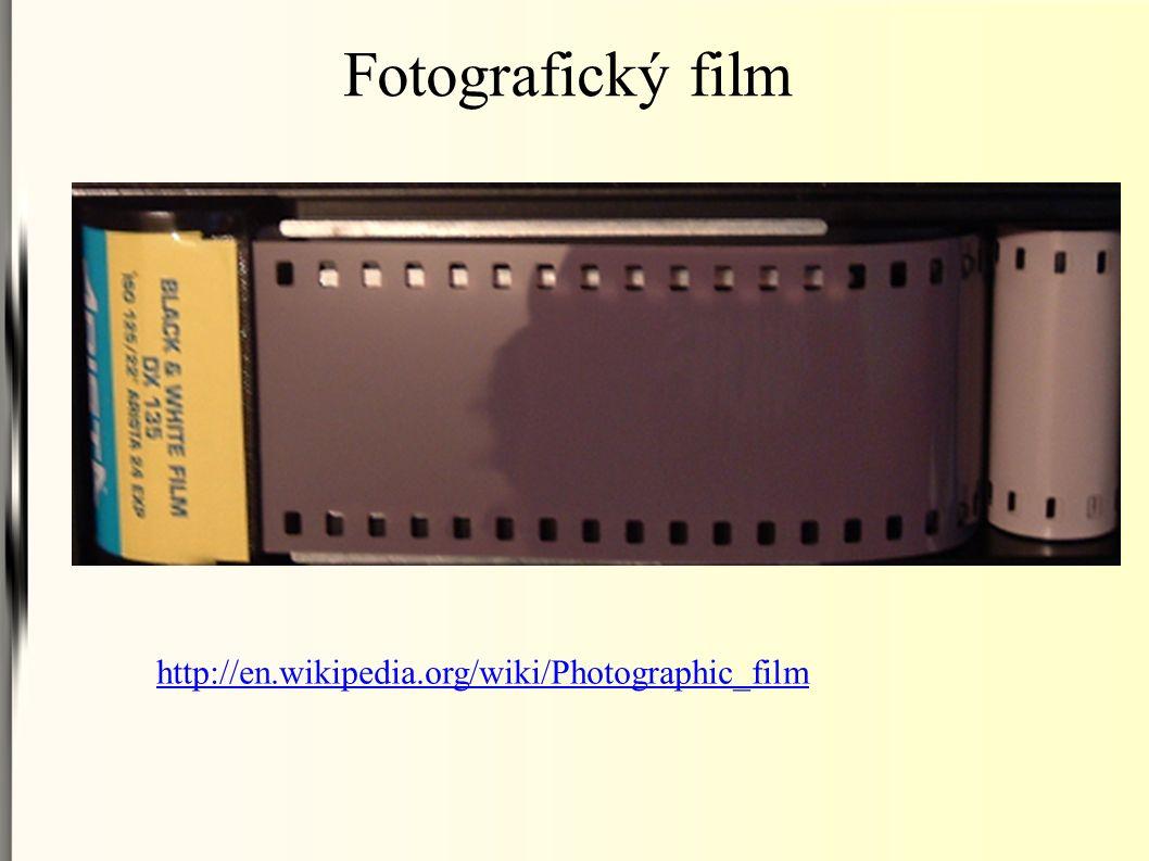 Fotografický film http://en.wikipedia.org/wiki/Photographic_film