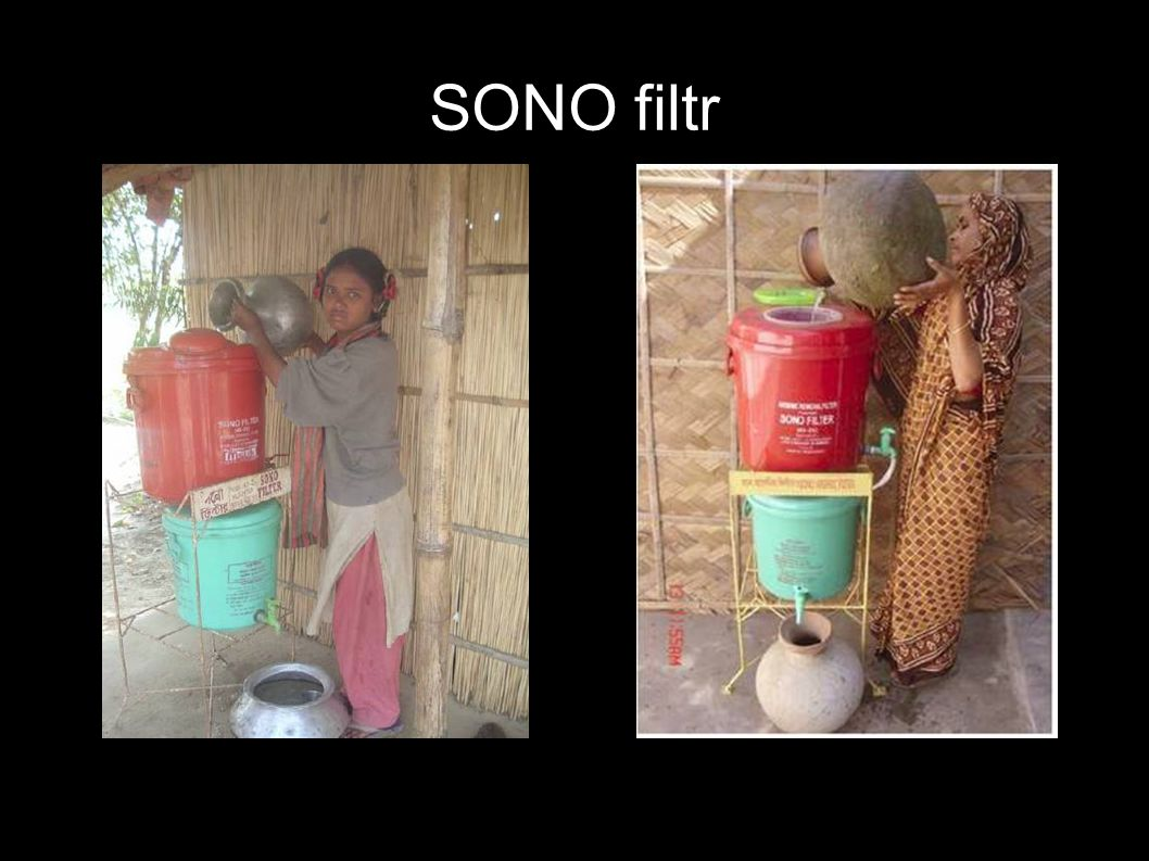 SONO filtr http://www.dwc-water.com/technologies/arsenic-filtration/index.html