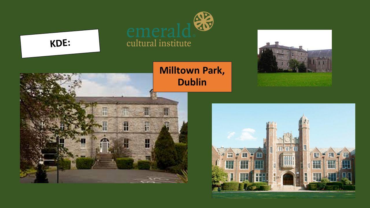 KDE: Milltown Park, Dublin