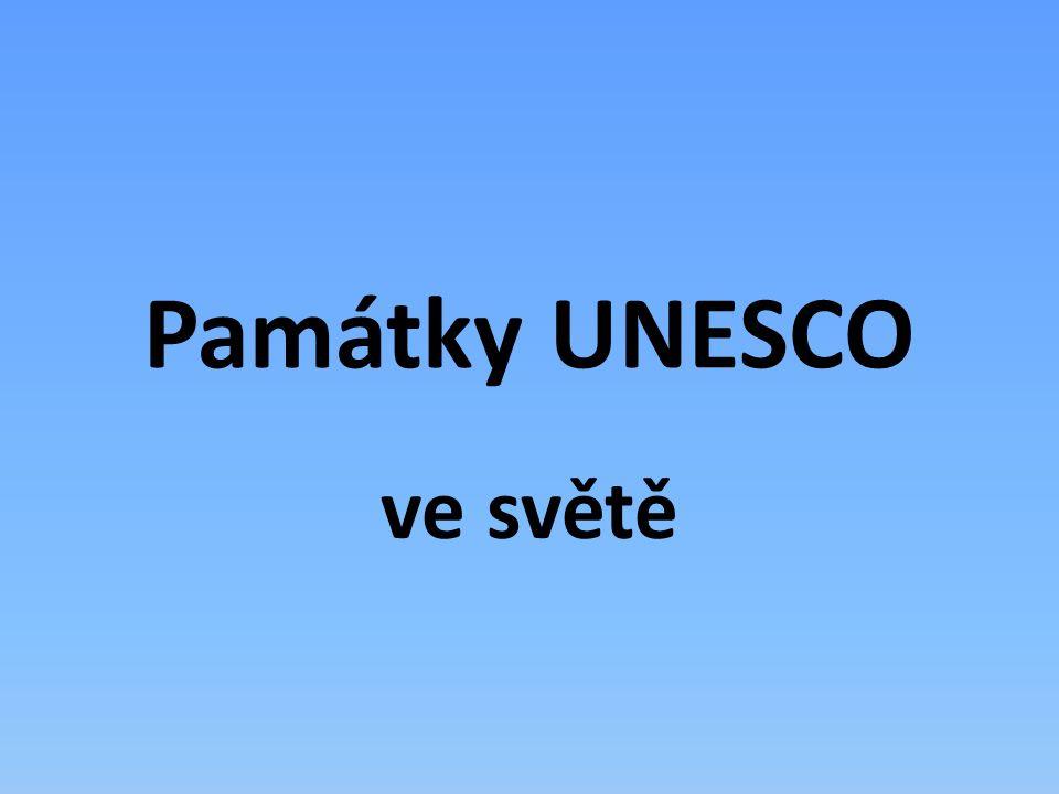 Památky UNESCO ve světě