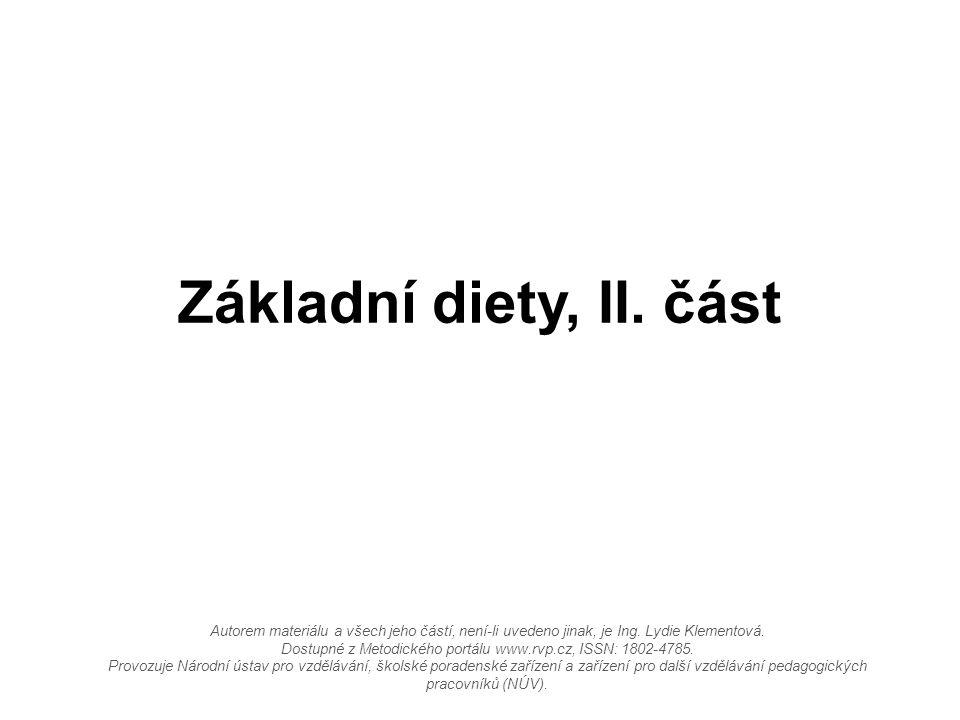 Autorem materiálu a všech jeho částí, není-li uvedeno jinak, je Ing. Lydie Klementová. Dostupné z Metodického portálu www.rvp.cz, ISSN: 1802-4785. Pro