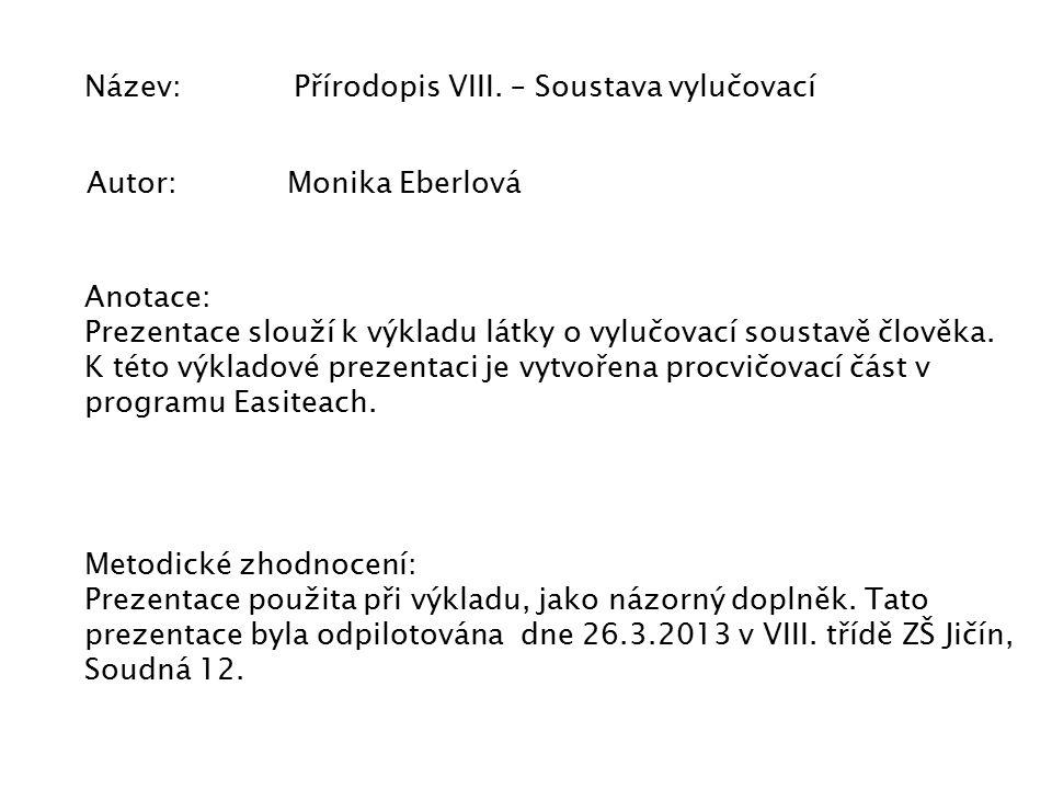 Název: Přírodopis VIII.