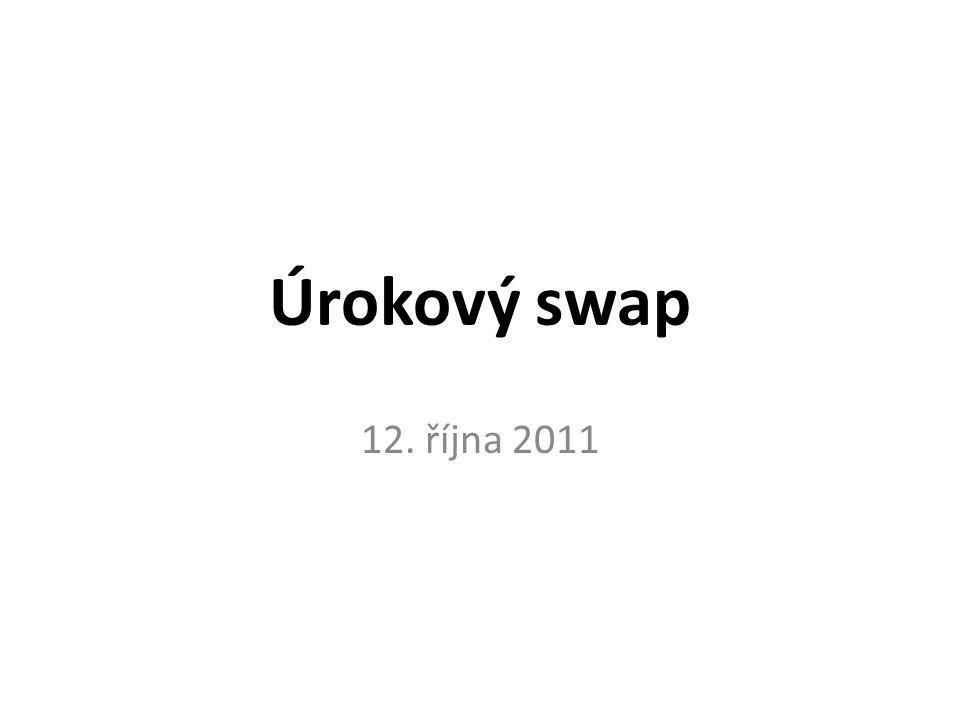 Úrokový swap 12. října 2011