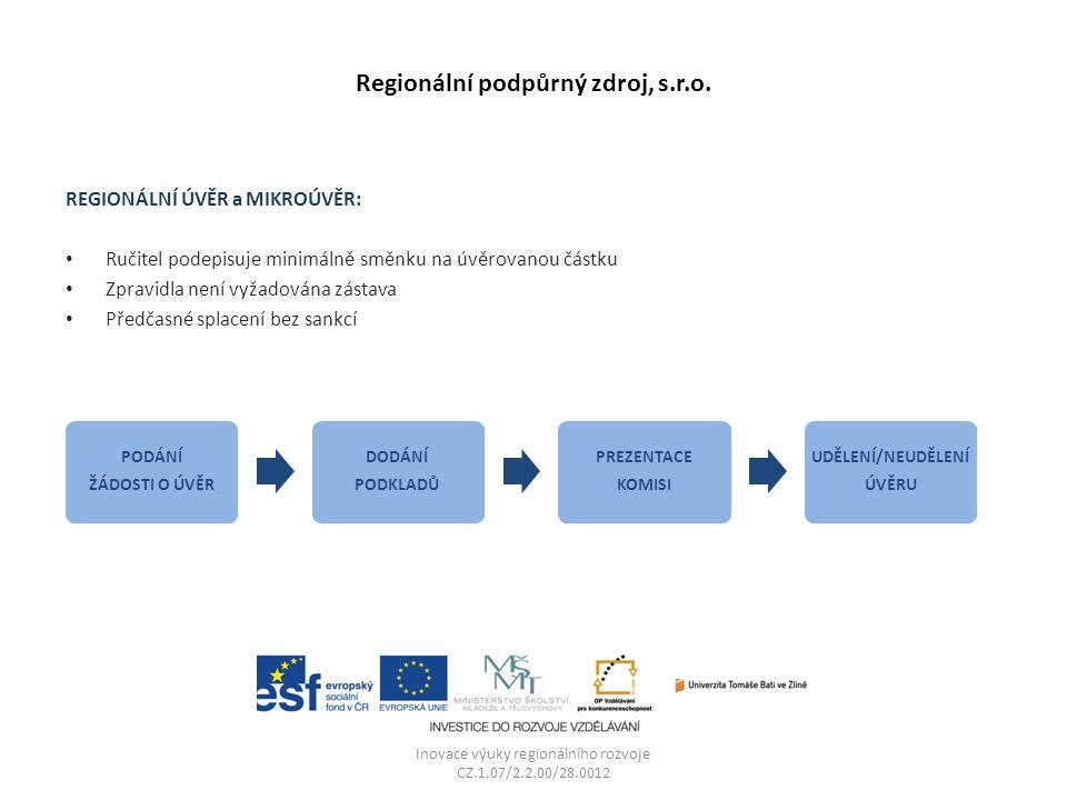 Regionální podpůrný zdroj, s.r.o.
