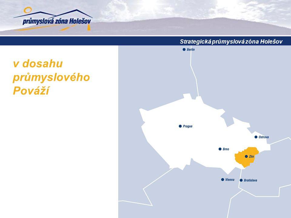 Strategická průmyslová zóna Holešov v dosahu průmyslového Pováží
