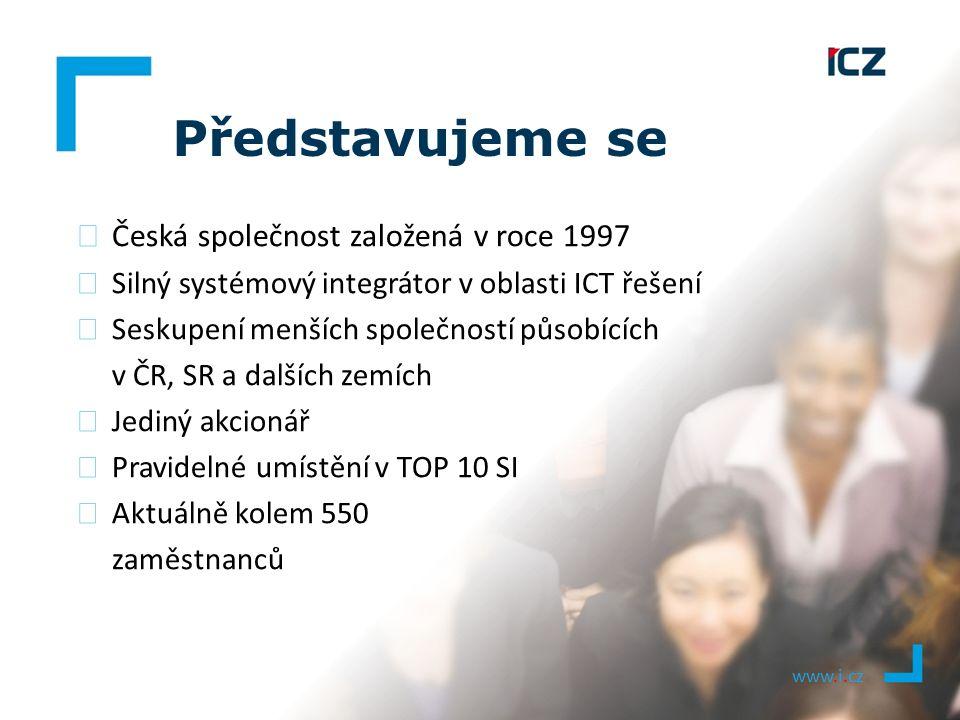 ▶ Česká společnost založená v roce 1997 ▶ Silný systémový integrátor v oblasti ICT řešení ▶ Seskupení menších společností působících v ČR, SR a dalšíc
