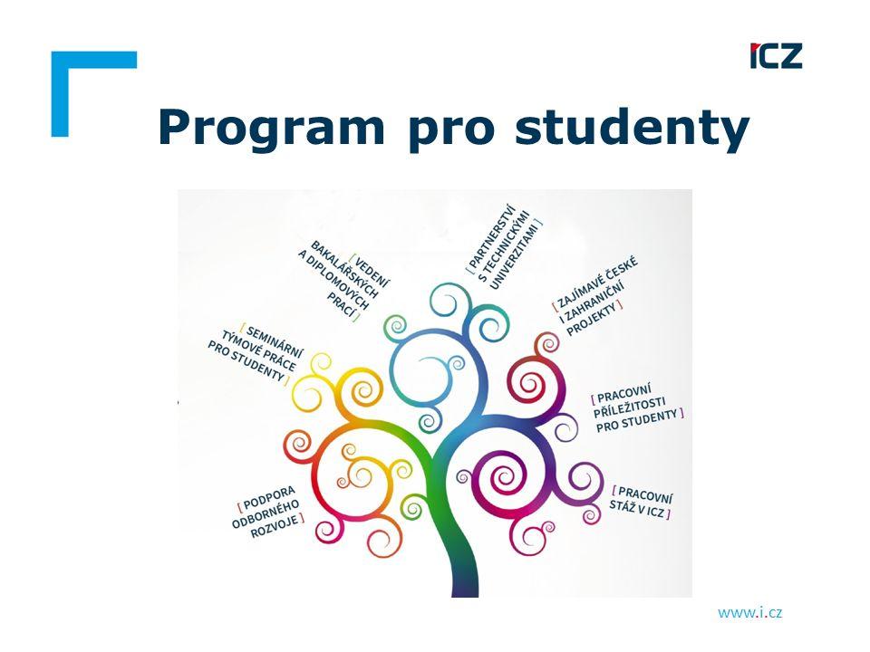 www.i.cz Program pro studenty