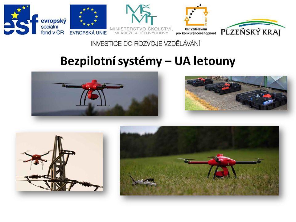 Bezpilotní systémy – UA letouny