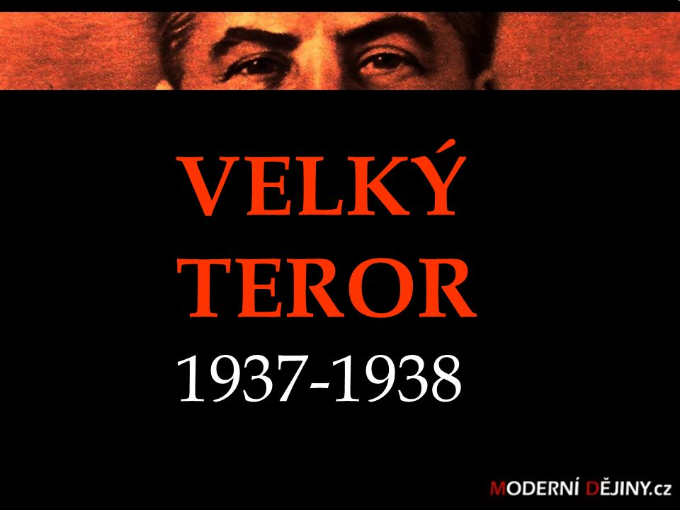 SMĚRNICE VELKÝ TEROR 1937-1938