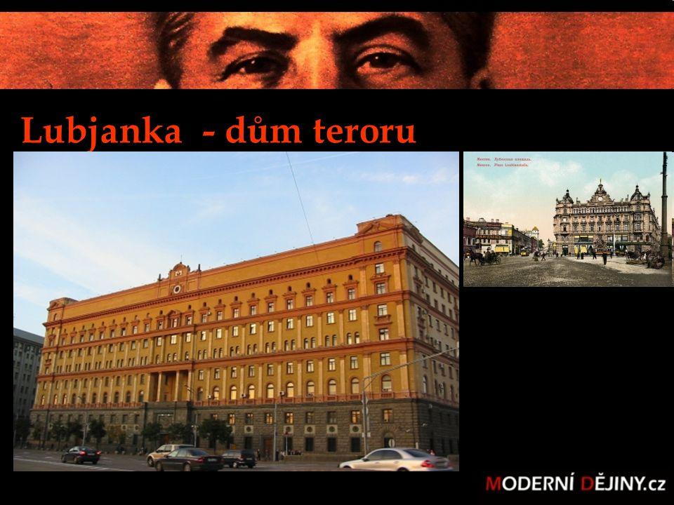 Lubjanka - dům teroru