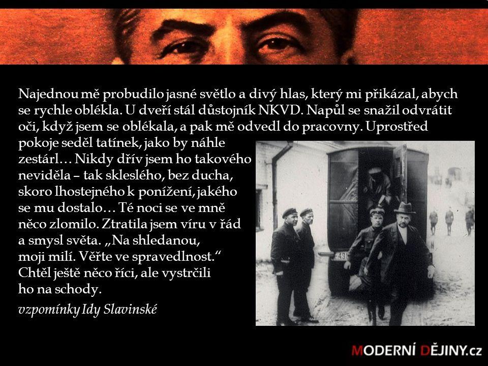 VELKÝ TEROR Největší státem řízený masakr chladnokrevně plánovaná MASOVÁ JATKA doba trvání : 16 měsíců srpen 1937- listopad 1938 uvězněno nejméně 1,3 mil.