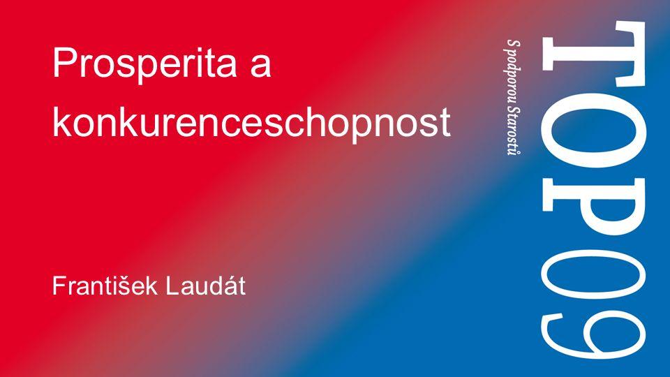 Prosperita a konkurenceschopnost František Laudát