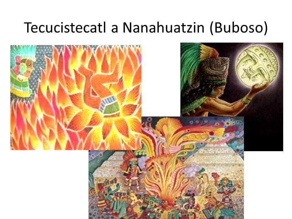 Tecucistecatl a Nanahuatzin (Buboso)