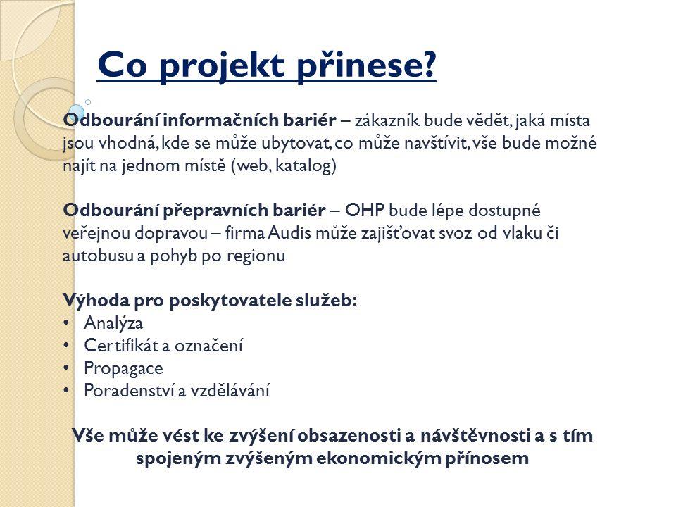 Co projekt přinese.