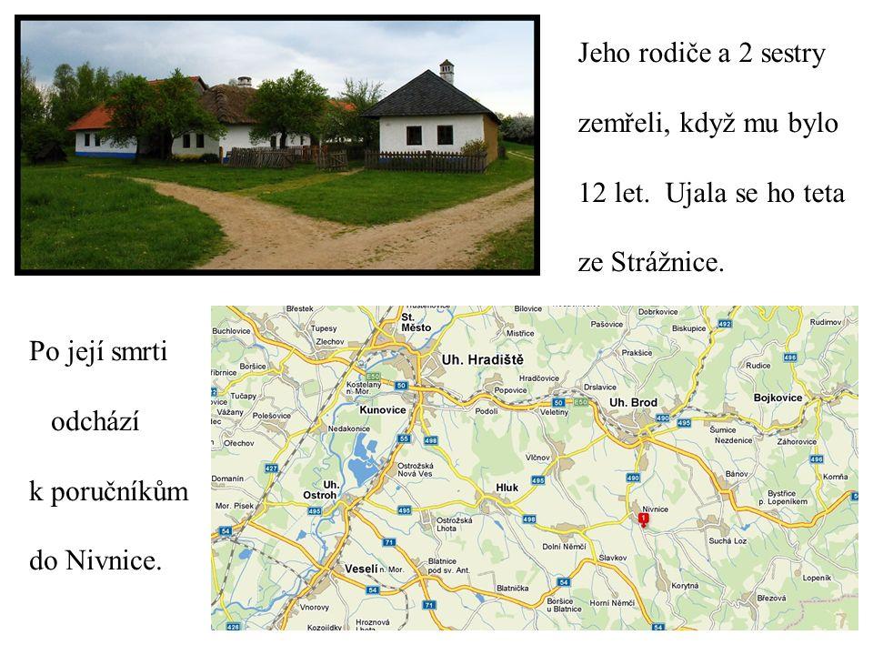 1680 poslán na bratrskou školu v Přerově ( studium latiny), později odešel na akademii v Herbornu a na univerzitu v Heidelberku.