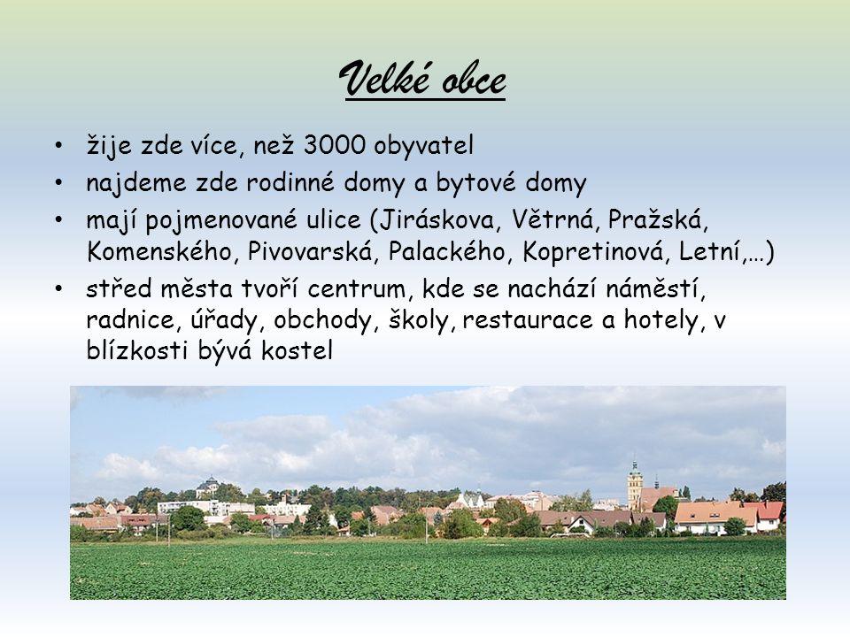 Malé obce v našem okolí v okolí Vysokého Mýta, mezi polemi, loukami a lesy najdeme malé obce (vesnice, vísky, dědiny) např.:Brteč, Domoradice, Džbánov, Knířov, Lhůta, Slatina, Svařeň, Tisová, Vanice a Vraclav