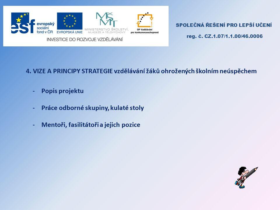 SPOLEČNÁ ŘEŠENÍ PRO LEPŠÍ UČENÍ reg. č. CZ.1.07/1.1.00/46.0006 4.